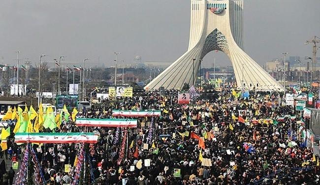 İran'da 35. Devrim Yıldönümü galerisi resim 1