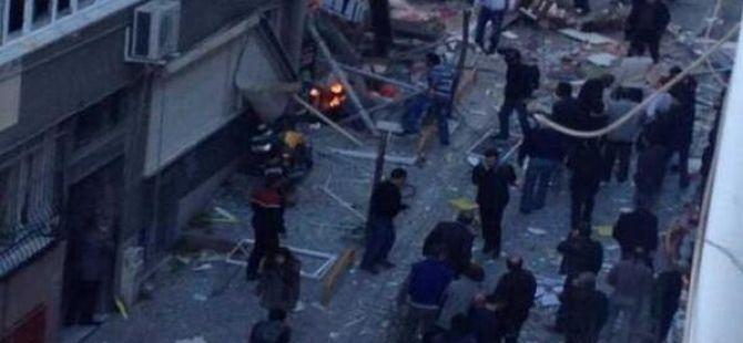 Taksim'de Doğalgaz Patlaması; Yaralılar Var