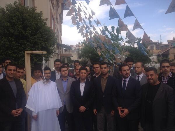 AKP Gençlik Kolları Mısır İçin Ayakta galerisi resim 2