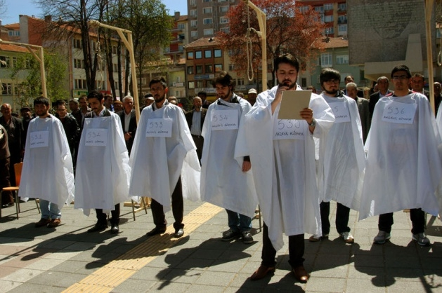 AKP Gençlik Kolları Mısır İçin Ayakta galerisi resim 6
