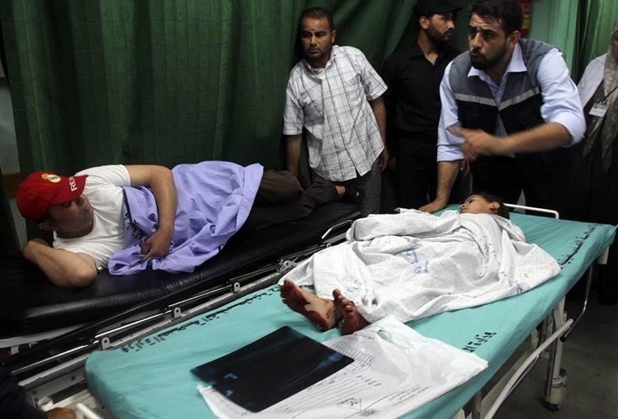 Gazze'ye Hava Saldırısı: 7 Yaralı galerisi resim 1