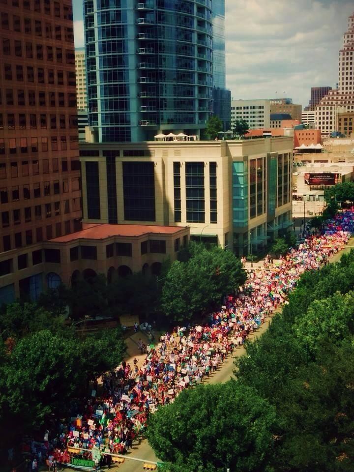 Teksas'da Gazze Halkı İçin Büyük Eylem galerisi resim 1