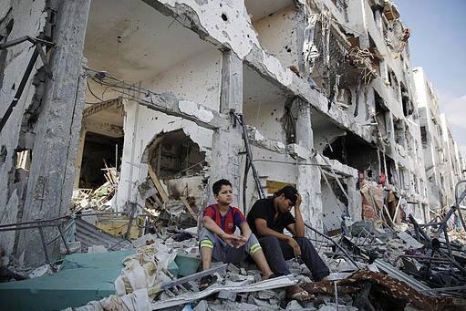 İsrail'in Gazze'ye Saldırılarının Ardından galerisi resim 1