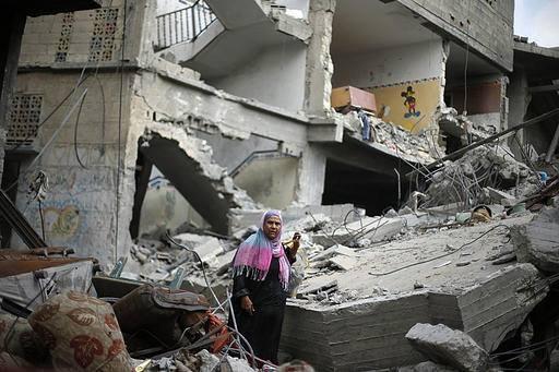 İsrail'in Gazze'ye Saldırılarının Ardından galerisi resim 10