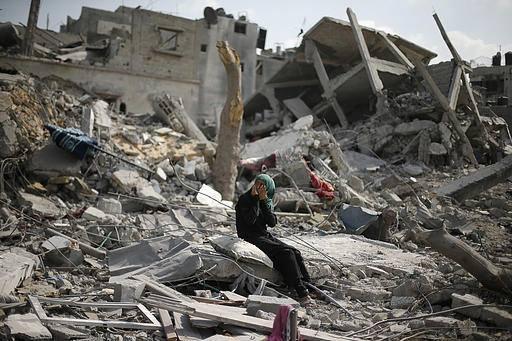 İsrail'in Gazze'ye Saldırılarının Ardından galerisi resim 11