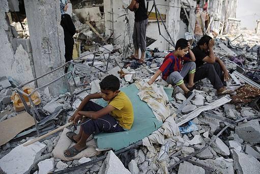 İsrail'in Gazze'ye Saldırılarının Ardından galerisi resim 12