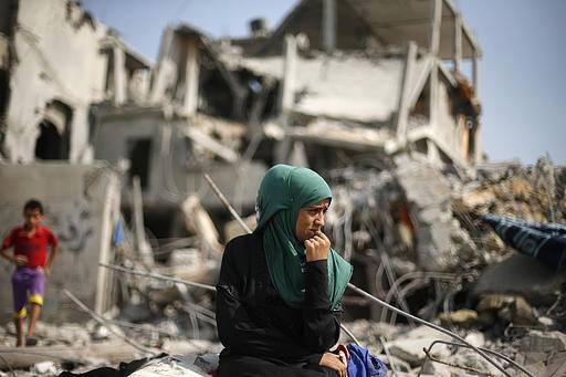 İsrail'in Gazze'ye Saldırılarının Ardından galerisi resim 13
