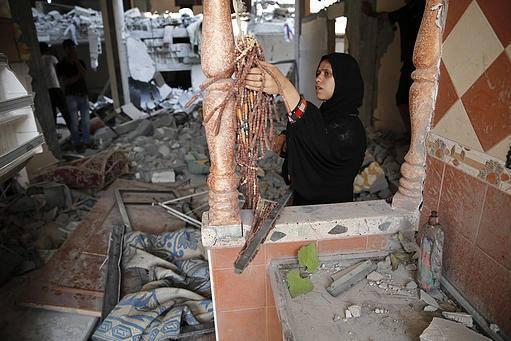 İsrail'in Gazze'ye Saldırılarının Ardından galerisi resim 6
