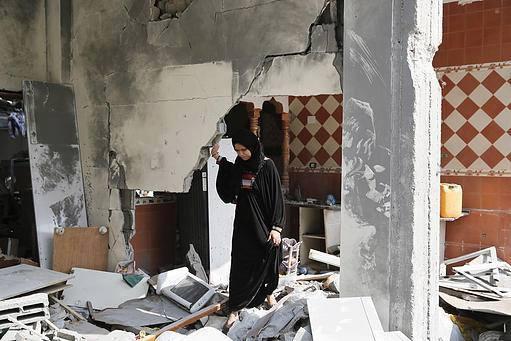 İsrail'in Gazze'ye Saldırılarının Ardından galerisi resim 7