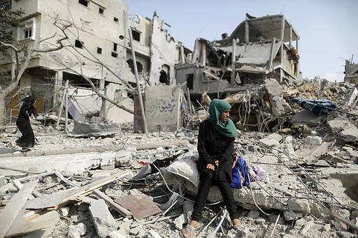 İsrail'in Gazze'ye Saldırılarının Ardından galerisi resim 9