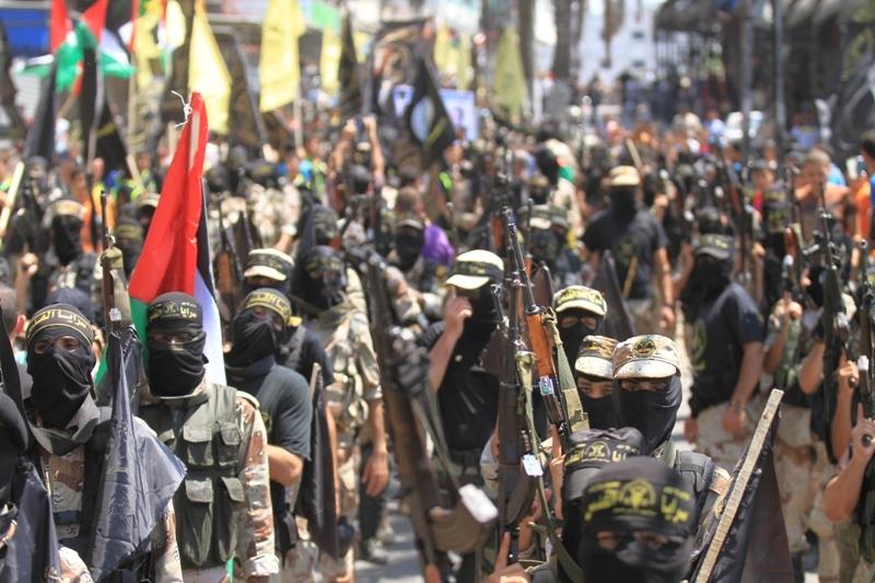 İslami Cihad'dan Gazze'de Gövde Gösterisi galerisi resim 1