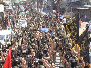 İslami Cihad'dan Gazze'de Gövde Gösterisi