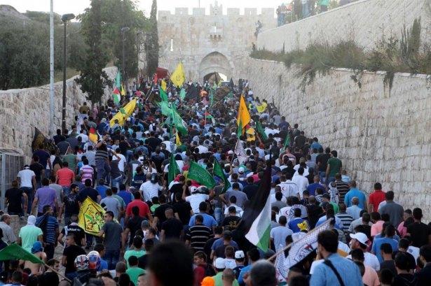 Doğu Kudüs'de Siyonistlerle Çatışma galerisi resim 1