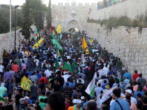 Doğu Kudüs'de Siyonistlerle Çatışma