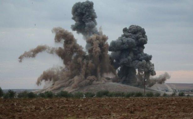 Emperyalist Koalisyon Tekfirci Teröristleri Bombaladı galerisi resim 1