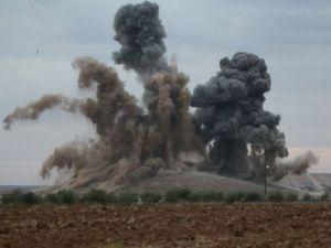 Emperyalist Koalisyon Tekfirci Teröristleri Bombaladı