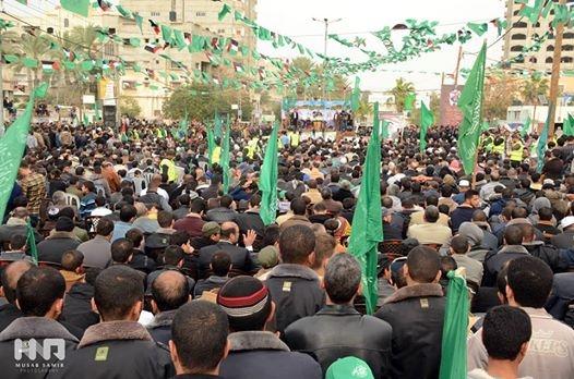 Hamas'ın 27. Kuruluş Yıldönümü Kutlamaları galerisi resim 1