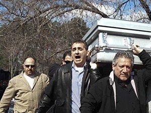 Amerika'da Katledilen Gençlerin Cenaze Töreni