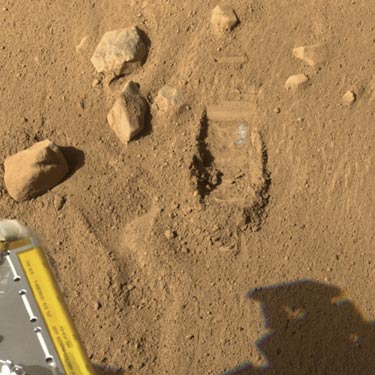 İşte Mars'ta kazılan harikalar diyarı galerisi resim 1