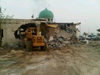 Suudi Arabistan Destekli Bahreyn Rejimi Cami Yıkıyor galerisi resim 1