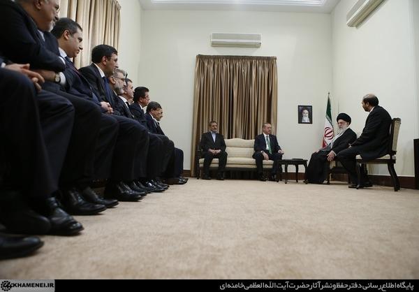 Başbakan İmam Hamaney İle Görüştü galerisi resim 1