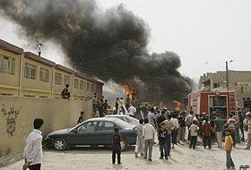 Bağdat'ta 8 ayrı noktada patlama: 25 ölü