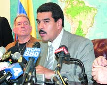 Maduro: Yerin Dibine Batsın Resmi Açıklamalarınız