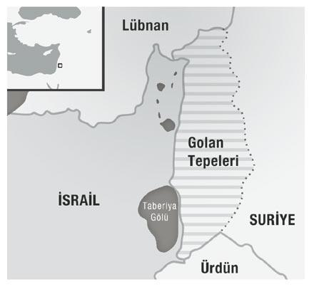 İsrail Golan Tepelerinde Tatbikata Hazırlanıyor