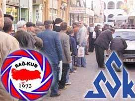 SSK-Bağkur affı yasallaştı
