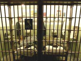20 Filistinli mahkum hastaneye kaldırıldı