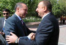 Aliyev'den Erdoğan'a Destek