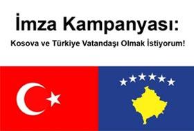 Kosova-Türkiye Vatandaşlığı İçin İmza Kampanyası