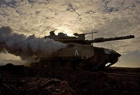 İsrail Askeri Aracına Bombalı Eylem
