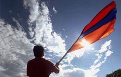 Avustralya'da Türkler'den Ermeni tasarısı eylemi
