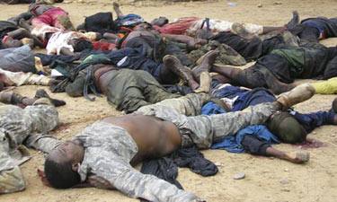 Nijerya'da 200 kişi Açlık Ve Susuzluktan Öldü