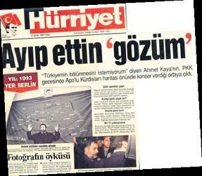 Hürriyet'ten yine Ahmet Kaya'ya Hakaret