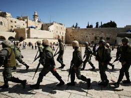 İsrail, Mescid-i Aksa Çevresini Kışlaya Çevirdi