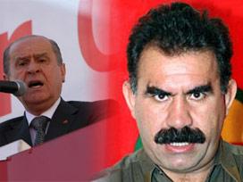 Bahçeli'ye Montaj: Öcalan'a Selam !