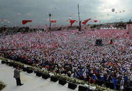 AKPnin İstanbul Mitingi(VİDEO)