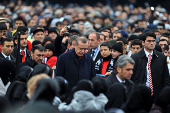 Erdoğan Soma'da