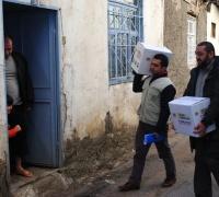 İHH Suriye'ye yardımlarını 3 ana kapıdan yapıyor