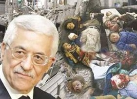 Abbas'dan Katil Siyonistlere İmaj Düzeltmesi