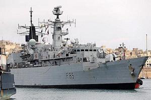 İngiliz Gemileri de Suriye Yolunda
