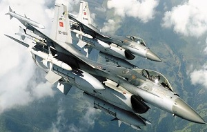 Suriye'den F-16 Tacizi