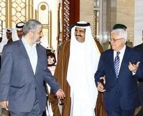 Meşal, Abbas ve Katar Emiri'den Üçlü Görüşme