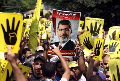 Mısır'da Şafak Ziyaretçileri Hareketi'nden gösteri