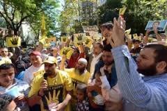 ABD'deki Mısırlılar'dan New York'ta gösteri