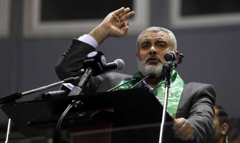 Hamas: Mücadelemiz İsrail'e Karşı