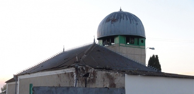 Yahudi Yerleşimciler  Camiyi  Yakma Girişiminde Bulundu