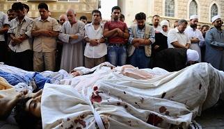 Esed güçleri 76 kişiyi öldürdü